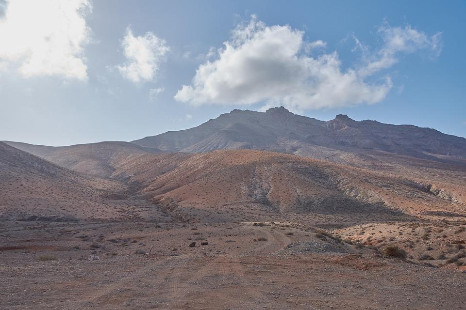 Hill, Lava, Volcano Island, Fuerteventura