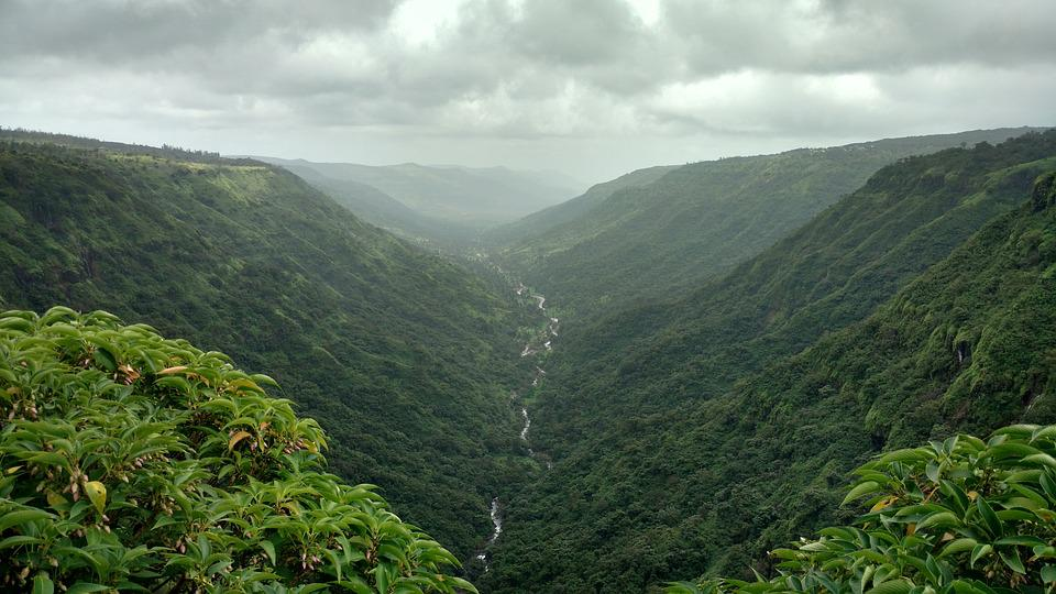 India, Panchgani, Hill Station, Valley