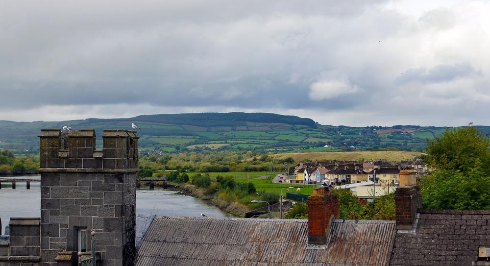 Ireland, Landscape, Hills, Scenic, Scenery, County