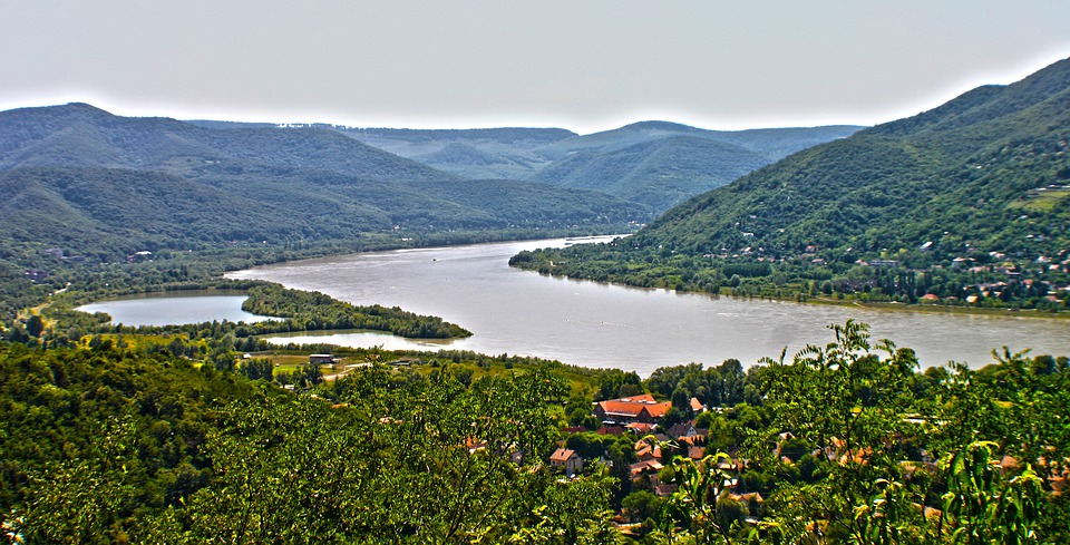 Landscape, River, Mountians, Hills, Scenic, Sprawling