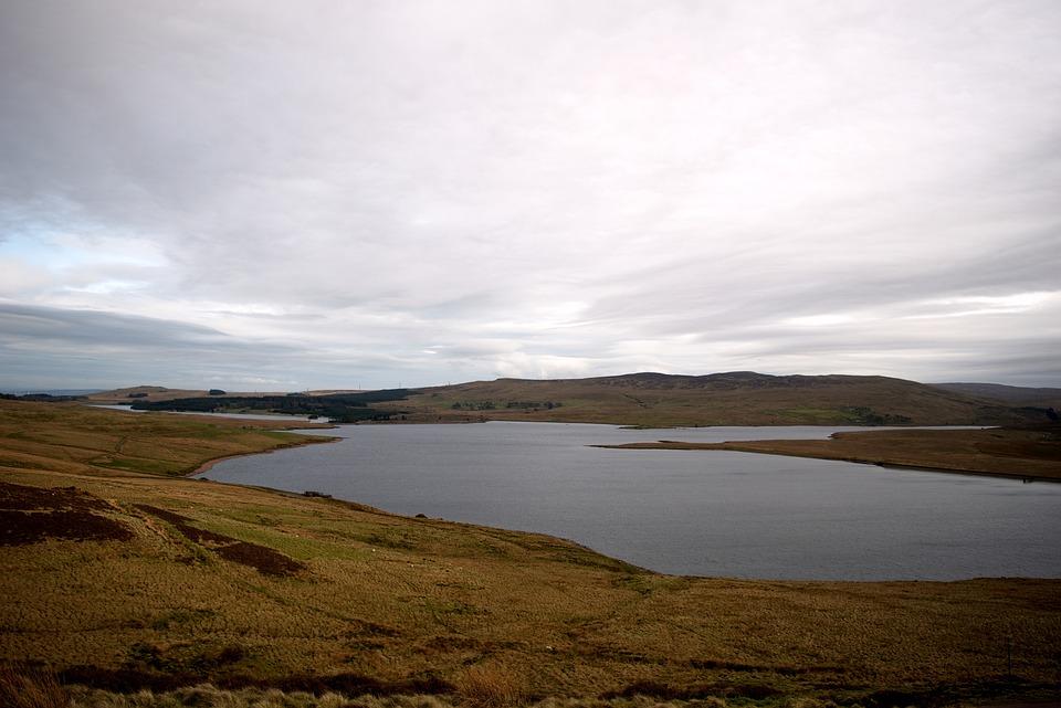 Loch, Lake, Water, Hills, Landscape