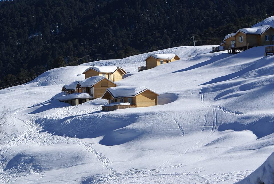 Snow, Hills, Mountain