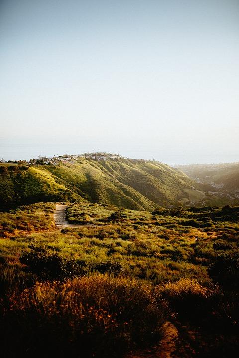 Nature, Green, Grass, Landforms, Hills