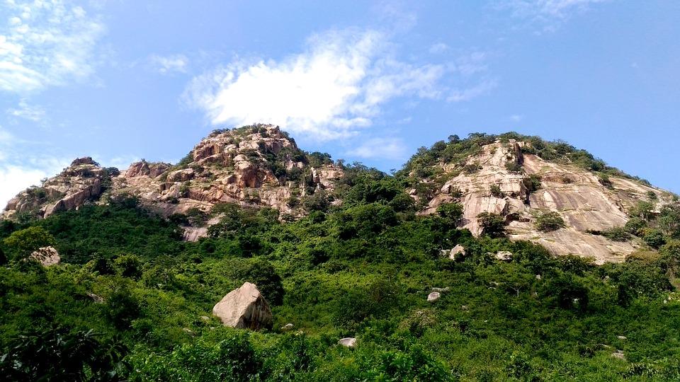 India, West Bengal, Puruliya, Hills, Nature, Sky
