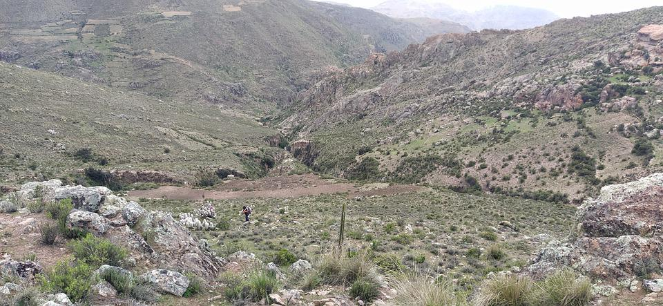 Hills, Mountains, Grass, Rocks, Trail, Hiking