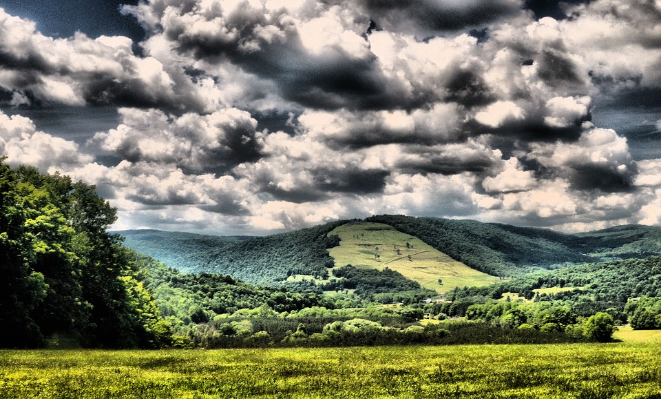 Landscape, Hills, Scenic, Nature, Mountains, Pastoral