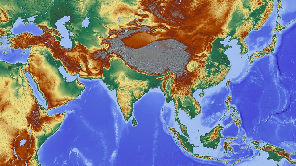 Free photo himalayas asia map relief map india nepal max pixel asia india himalayas nepal map relief map gumiabroncs Choice Image