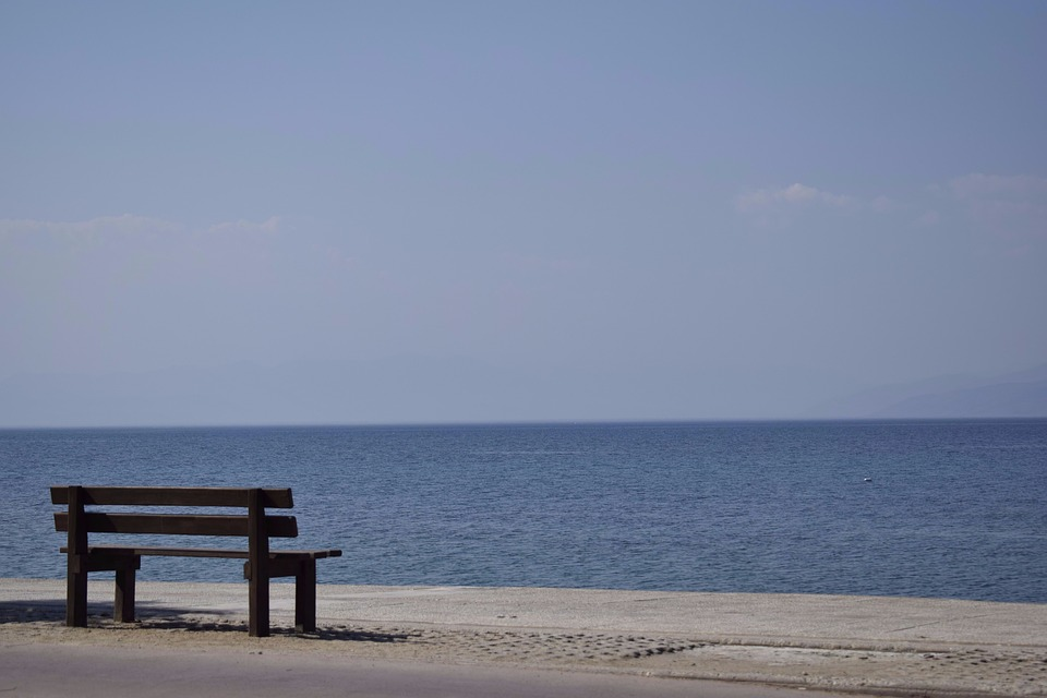 Greece, Solar, Himmel, Summer, Waves, Beach, Water, Sea
