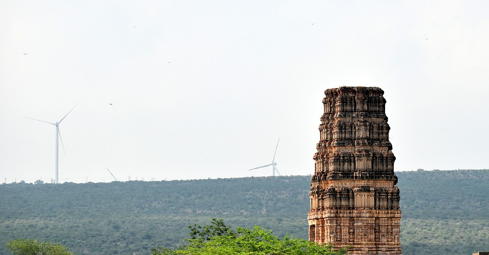 Madhavaraya Temple, Tower, Gandikota, Hindu, Fort