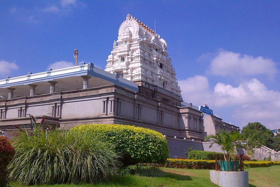 Iskcon, Temple, Hindu, Krishna, Bangalore, India