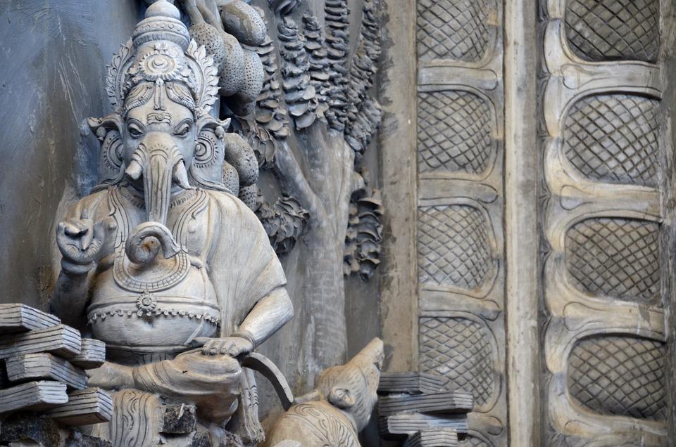 Ganesha, Hinduism, Messenger Of Gods, India, Culture