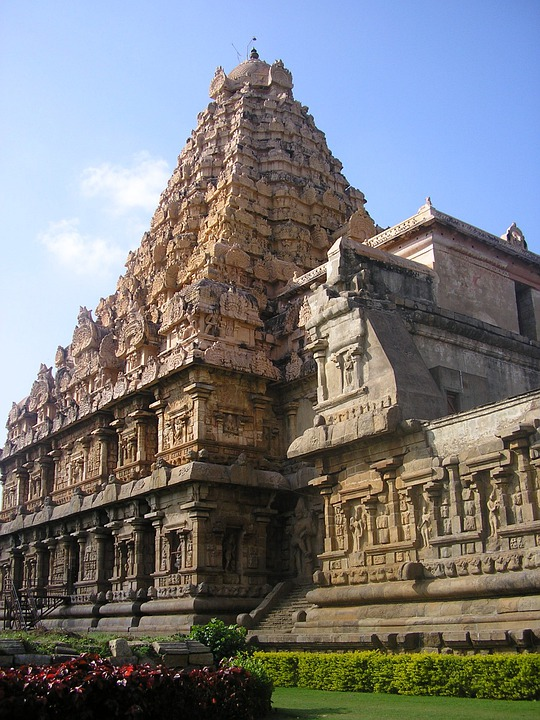 Thanjavur, India, Temple, Hindu, Indian, Hinduism