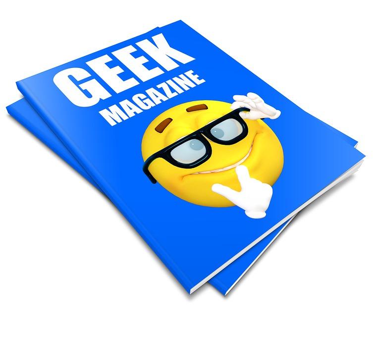 Geek, Magazine, Nerd, Hipster, Internet