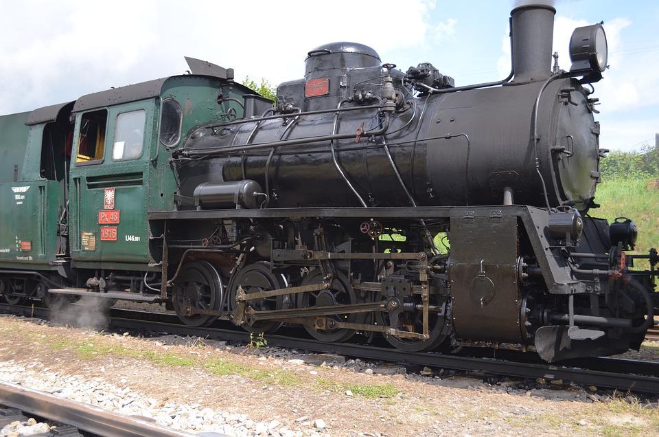 Train, Steam Locomotive, Histirický Train