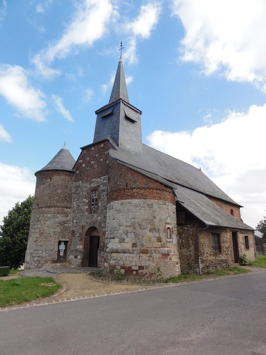 Bancigny, St Nicolas, Church, Building, Historic