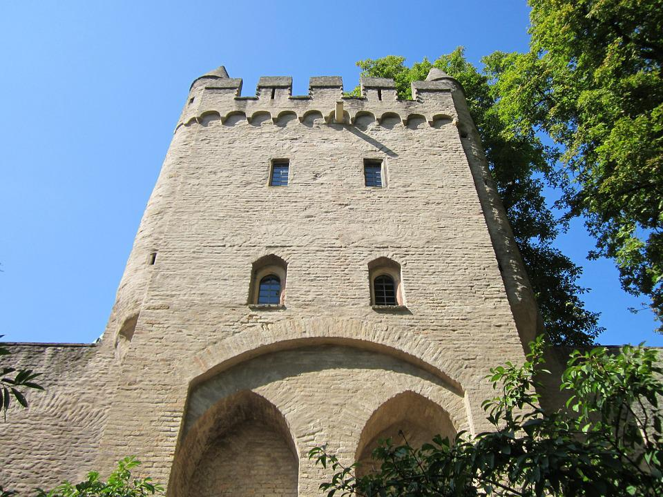 Heidentuermchen, Speyer, Tower, Building, Historic