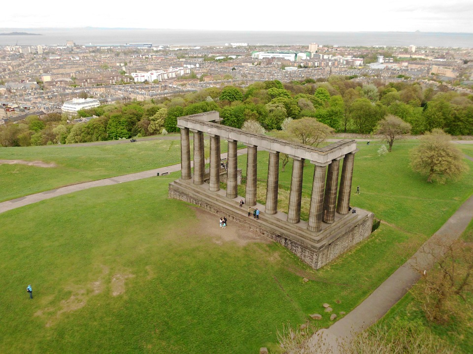 Calton Hill, Historic Buildings, Edinburgh