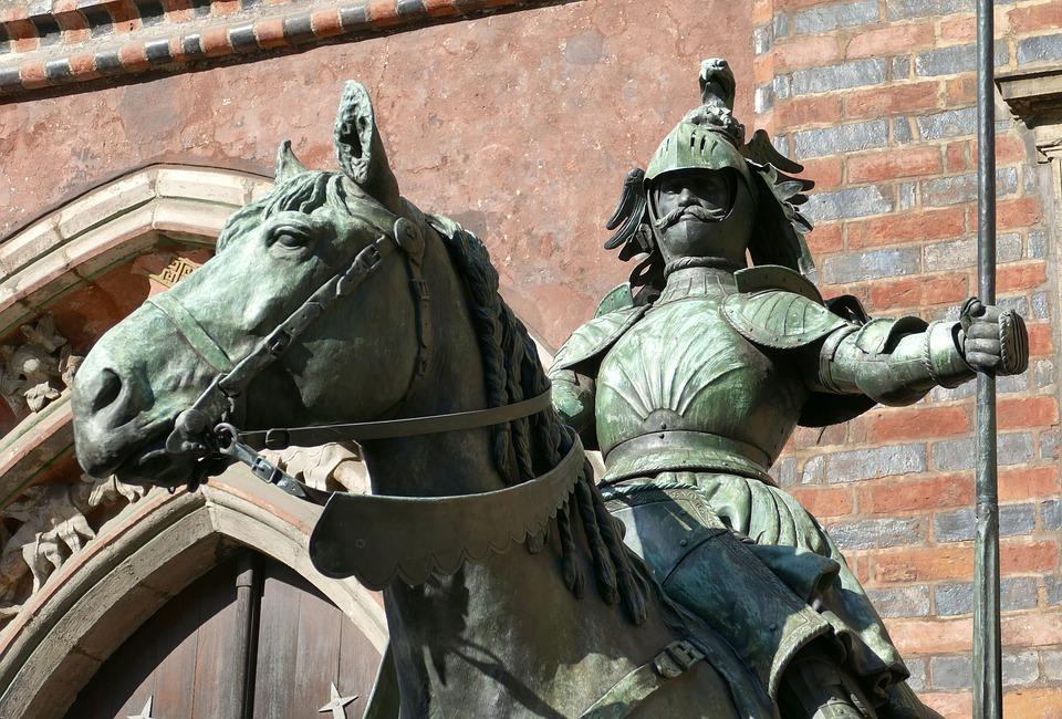 Bremen, Monument, Statue, Sculpture, Historic Center