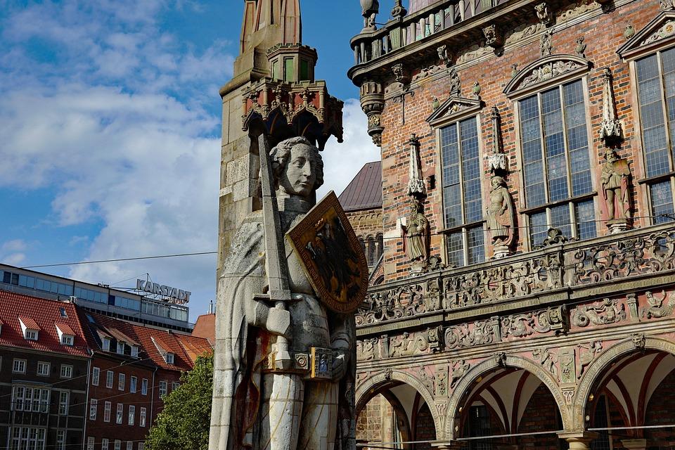Bremen, Roland, Town Hall, Historic Center