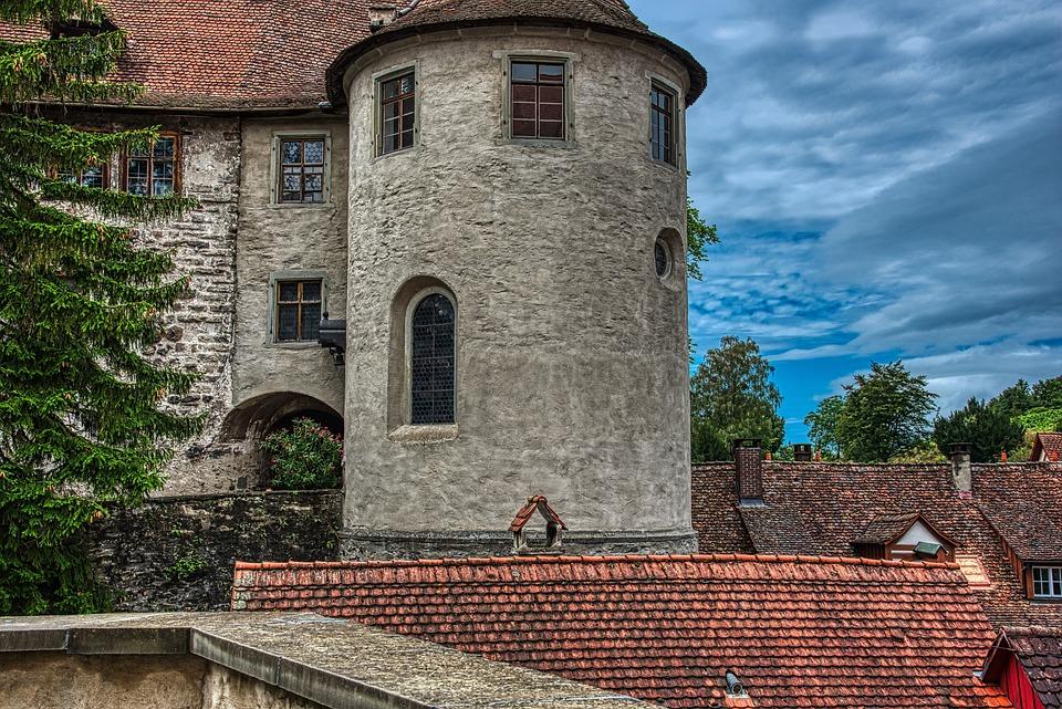 Castle, Tower, Historic Center, Architecture, Building