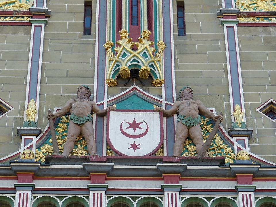 Hall, Saxony-anhalt, Germany, Saale, Historic Center