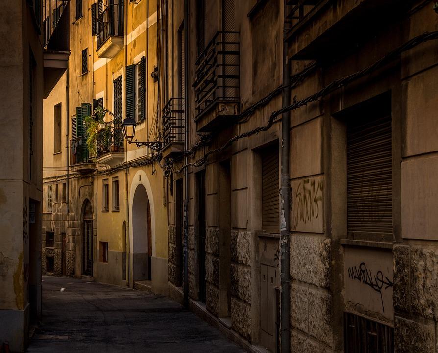 Historic Center, Palma, Spain, Mallorca, Facade