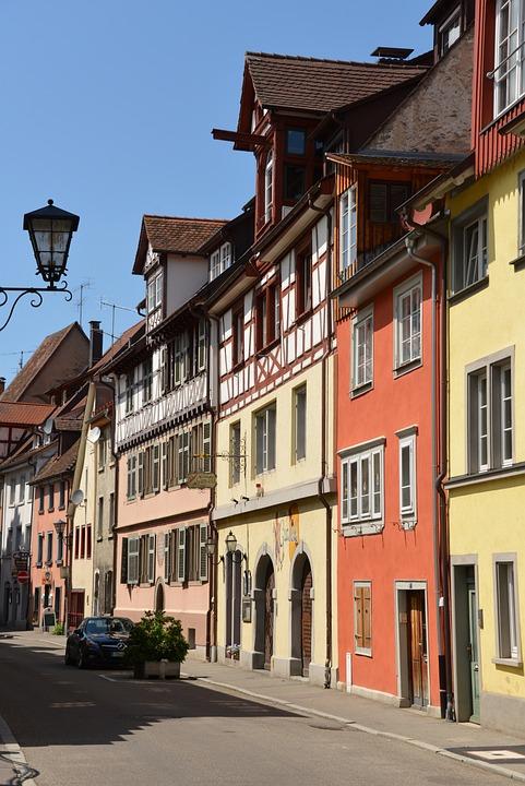 überlingen, Lake Constance, Historic Center, Sky
