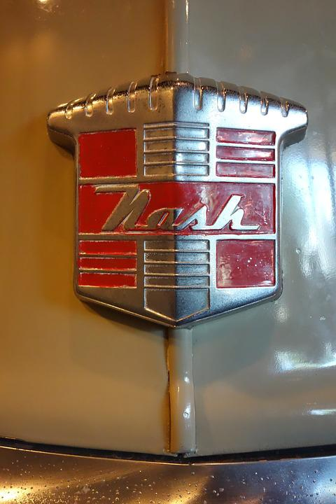 Nash, Motor, Company, Historic, Museum, Emblem, Badge