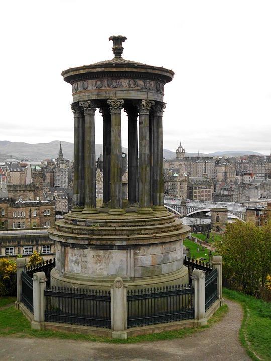 Calton Hill, Edinburgh, Historic