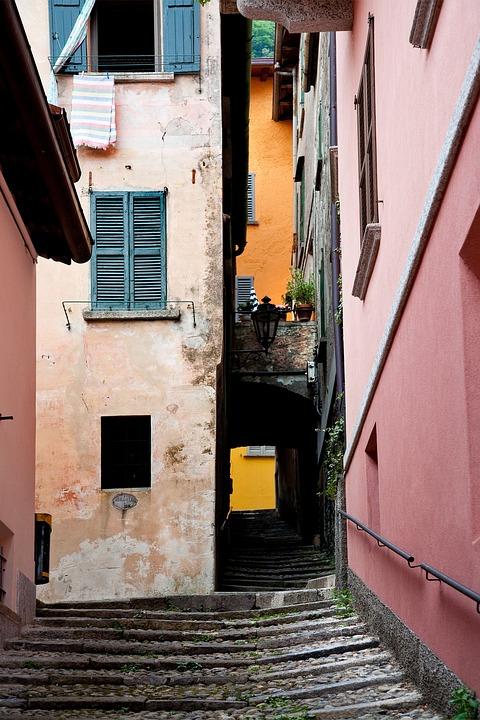 Italy, Lake, Building, Historic, Como, European