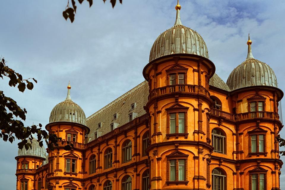 Castle, Architecture, Facade, Historic, Historical