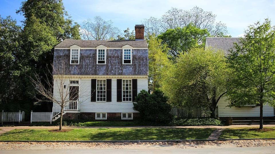 House, Williamsburg, Colonial, Historic, Virginia