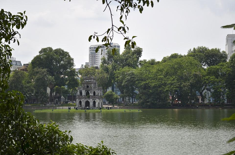 Lake, Park, Waterscape, Historic, Historical Center