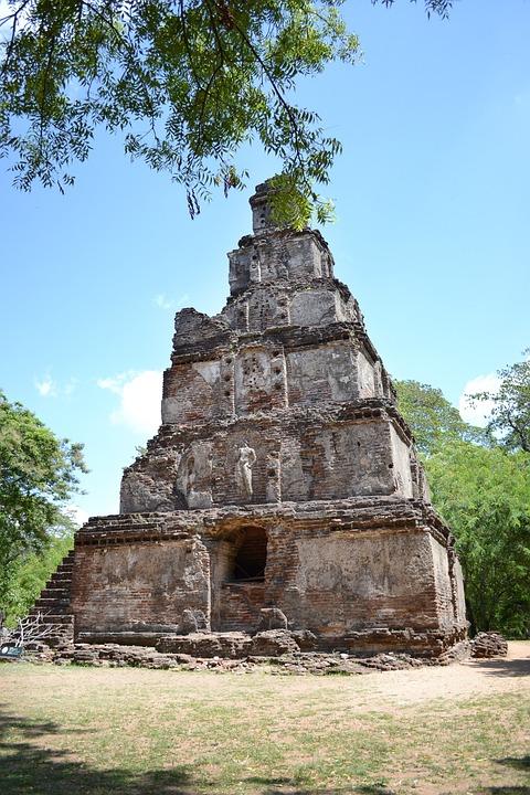 Polonnaruwa, Ancient Ruins, Ancient, Historic, King