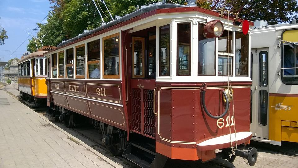 Historic Tram, Tram, Budapest, Retro Tram, Hungary