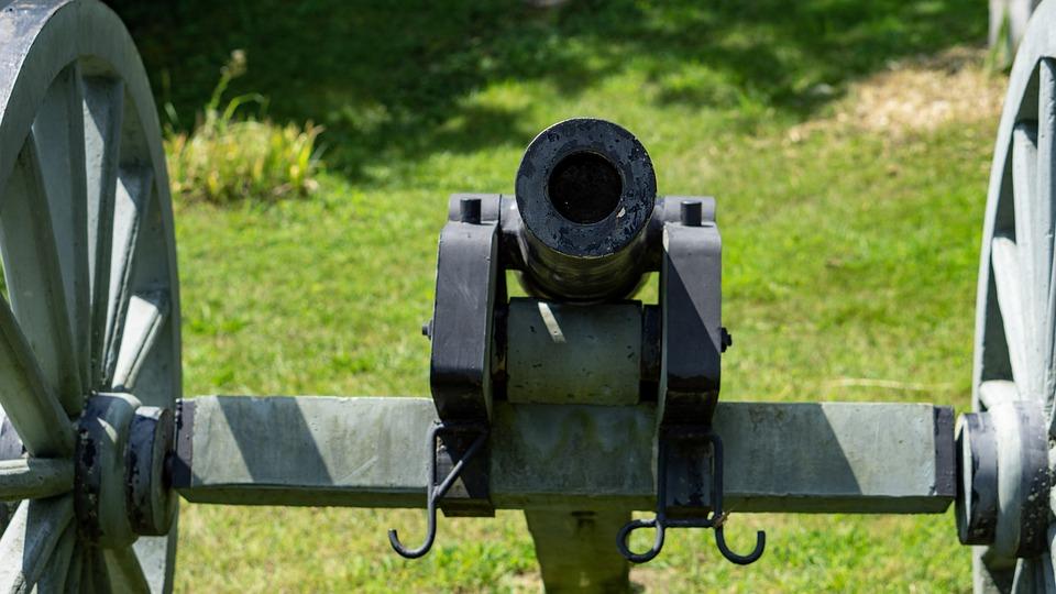 Canon, War, Military, Artillery, Historic, Battle