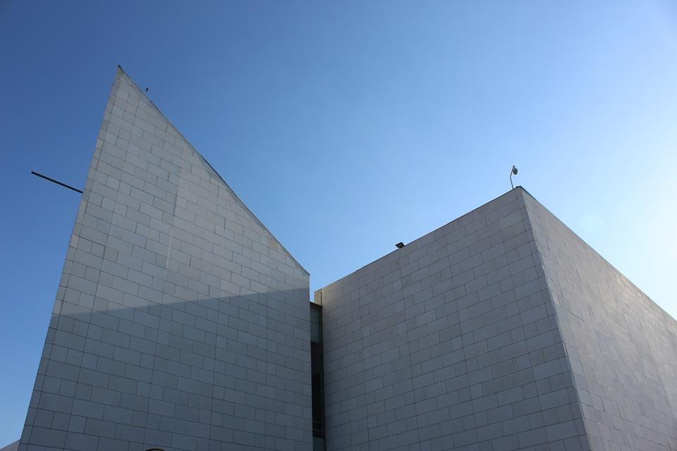 Architecture, Blue, Composition, Building, Historical