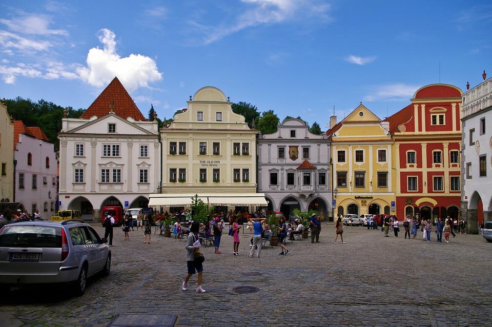 Czech Krumlov, Architecture, Historical Center