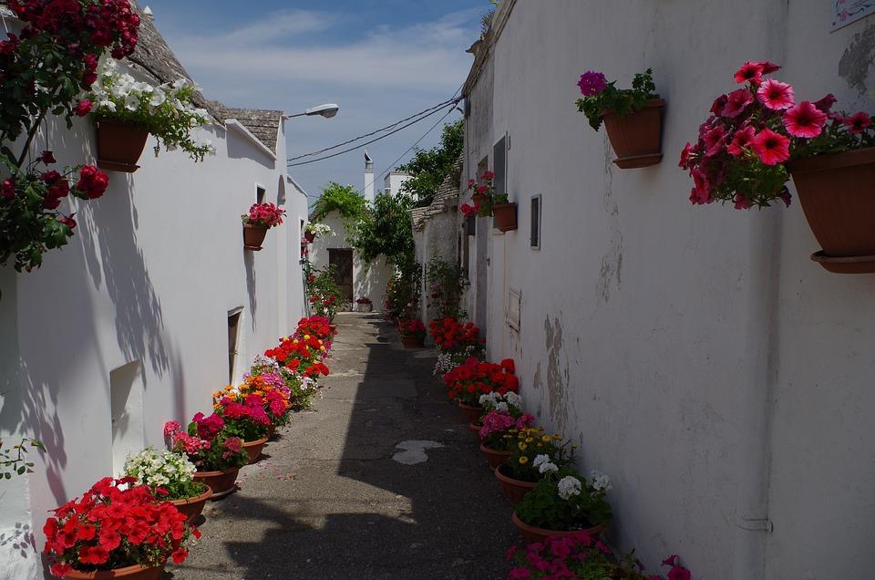 Alberobello, Puglia, Apulia, Historical Centre, South