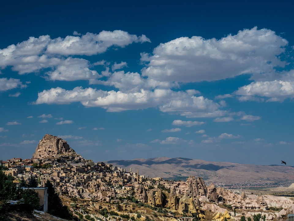 Turkey, Cappadogia, Historical Heritage