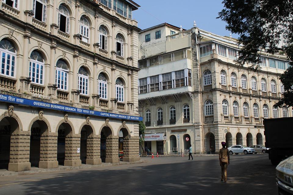 India, Building, Historical, Mumbai, Architecture, Fort
