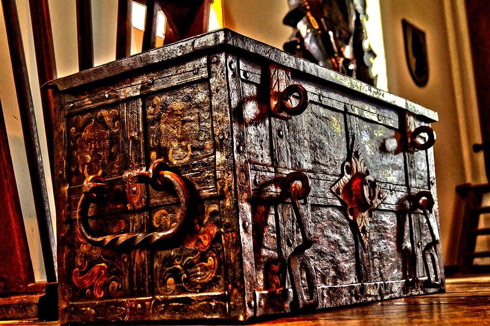 Coffin, Knight, Castle, Historical, Sweden, Scandinavia