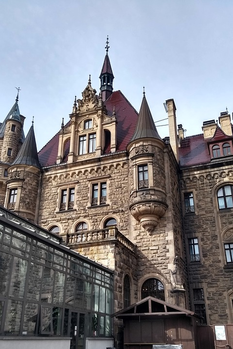 Castle, The Palace, Europe, Scrotum, Historical