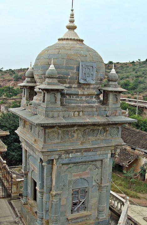 Tower, Palace, Stone, Historical, Patwardhan Palace