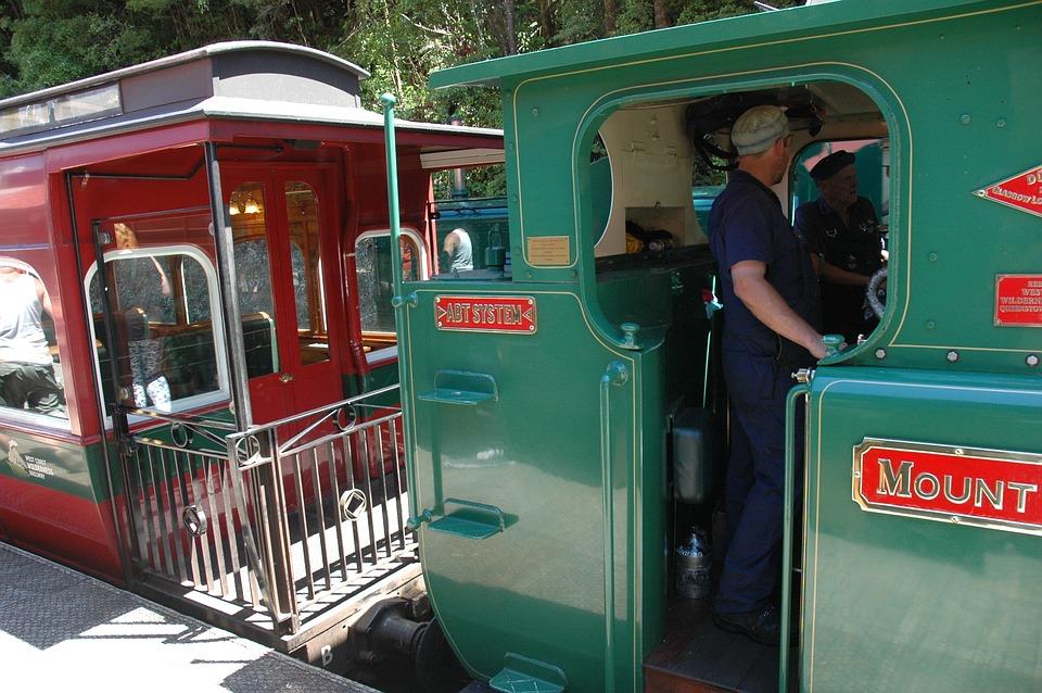Train, Steam Locomotive, Historical