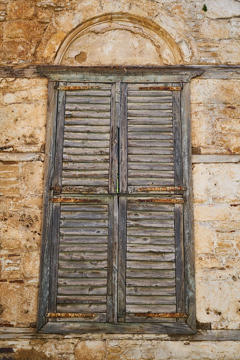 Window, Old, Building, Date, Architecture, Historical