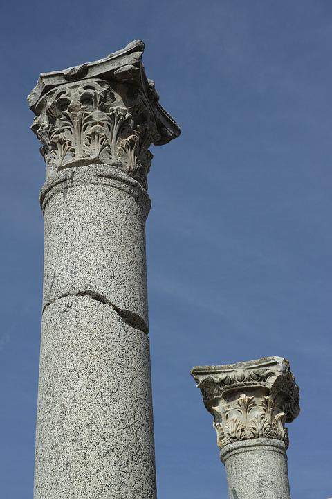 Column, Old, Rome, Hellenic, Historical Works