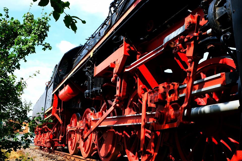 Steam Locomotive, 50 2652, Locomotive, Historically