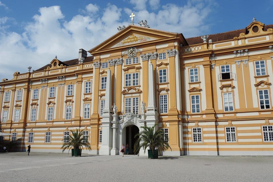 Pin Melk, Historically, Wachau, Tourism, Baroque