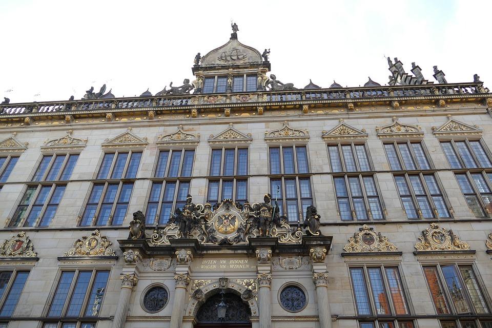 Bremen, Hanseatic City, Market, Facade, Historically